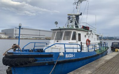 MAGDA I, the Boat that is about to change